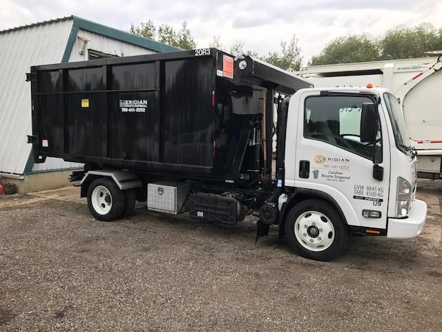 roll off dumpster service meridian waste disposal